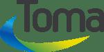 Logo Toma og lang bue full farge